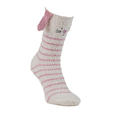 totes toasties Ladies Novelty Cosy Socks Bunny