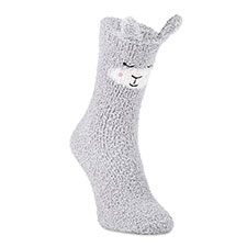 totes toasties Ladies Twin Novelty Supersoft Socks Grey Bear