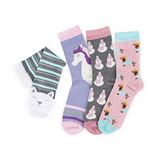 totes Ladies Novelty Socks In Bauble