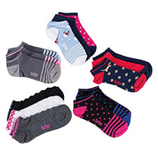 totes Ladies 3 Pack Trainer Socks