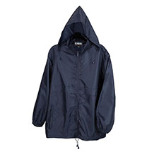 totes Navy Packable Raincoat Navy