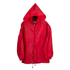 totes Red Packable Raincoat Red