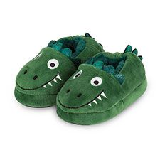 totes Childrens Dinosaur Slippers