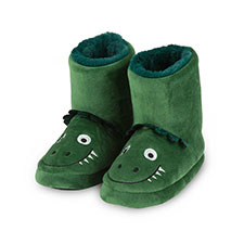 totes Childrens Dinosaur Booties