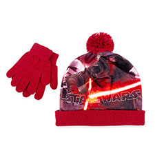 Children's Star Wars Hat & Glove Set Red