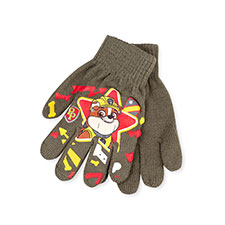 Kids Paw Patrol Gloves  Khaki