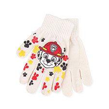 Kids Paw Patrol Gloves  Off White