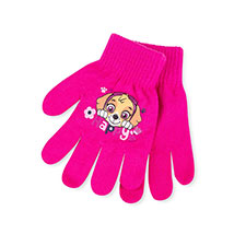 Kids Paw Patrol Gloves  Fuchsia