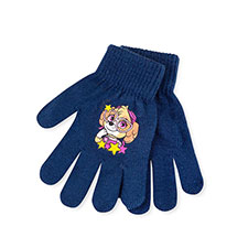 Kids Paw Patrol Gloves  Navy