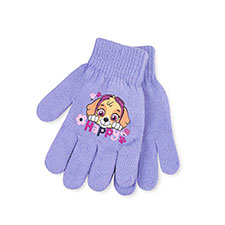 Kids Paw Patrol Gloves  Lilac