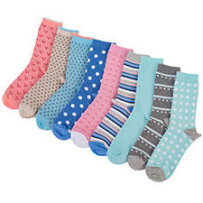 totes Waterfall 3 Pack Ankle Socks