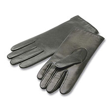 isotoner Cashmere Lined Smooth Leather Glove