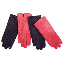 isotoner 2 Point Suede Smartouch Gloves