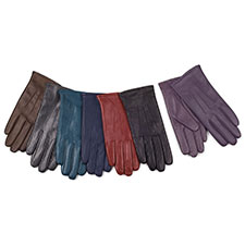 isotoner Ladies 3 Point Leather Gloves