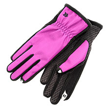 SmarTouch Microfibre Ladies Fleece 2 Finger Touchscreen Glove