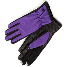 SmarTouch Ladies Nylon & Fleece 3 Finger Touchscreen Gloves