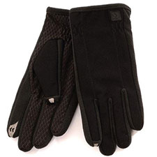 SmarTouch Mens Diamond Tech Grip 2 Finger Touchscreen Gloves