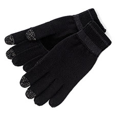 SmarTouch Chunky Knit 3 Finger Touchscreen Gloves
