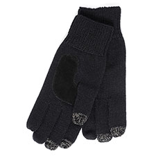 SmarTouch Mens Chunky Knit 3 Finger Touchscreen Gloves