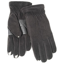 SmarTouch Mens Fleece 3 Finger Touchscreen Gloves
