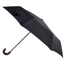 totes Classic Wood Crook Umbrella