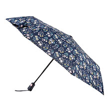 totes X-TRA STRONG Auto Open/Close Sweet Stem Umbrella (3 Section)