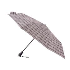 totes Auto Open/Close X-TRA STRONG Textured Stripe Print Umbrella (3 Section)