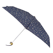 totes Compact Round Woodland Icons Print Umbrella (5 Section)