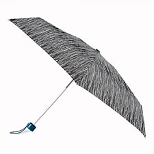 totes Compact Round Icicle Print Umbrella