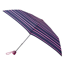 totes Auto Open/Close Thin Pop art Stripe (Dotty) Print Umbrella