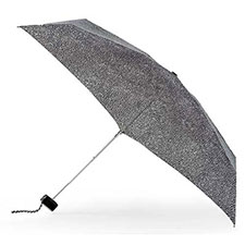 totes Speckle Dots Miniflat Thin Umbrella