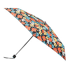 totes Miniflat Thin Breeze Flowers Print Umbrella