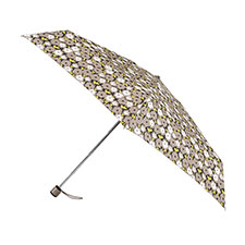 totes Miniflat Outline Floral Print Umbrella