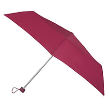 EXCLUSIVE totes Steel Plain Rasberry Umbrella