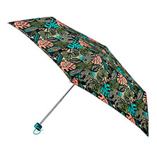 totes Supermini Jungle Leaf Print Umbrella