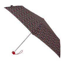 totes Supermini Dotty Print Umbrella (3 Section)