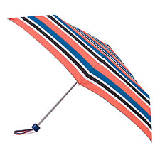 totes Supermini Nautical Stripe Print Umbrella