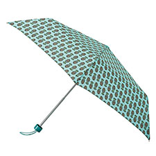totes Steel Pineapples Print Umbrella