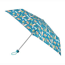 totes Supermini Bear Print Umbrella