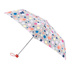 totes Supermini Dotty Print Umbrella