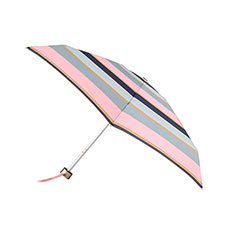 totes Supermini Wide Stripe Print Umbrella
