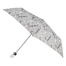 totes Supermini Cat Print Umbrella