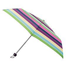 totes Steel Multi Block Stripe Print Umbrella