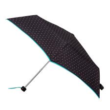 totes Supermini Black & White Icicle Print Umbrella