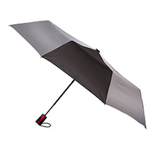 totes Auto Open Reflective Umbrella (3 Section)