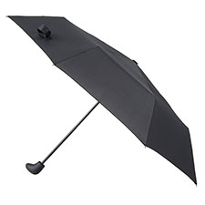 totes Sport Supermini with Gearstick Handled Umbrella Black