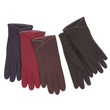 Isotoner Dipped Pu Trim Thermal Gloves