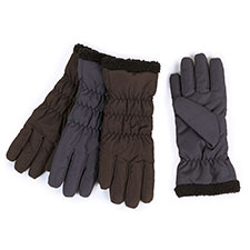 Isotoner Rouched Water Resistant Gloves
