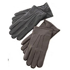 isotoner Luxury Leather 3 Point Glove