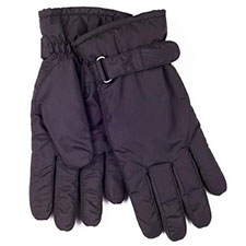 isotoner Mens Showerproof Padded Gloves